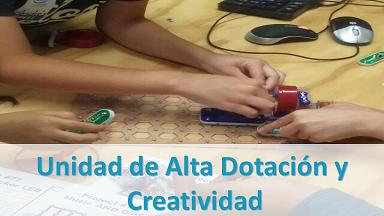 Unidad de Alta Dotación y Creatividad